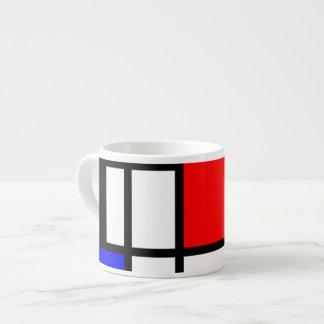 MOSAIK-Rechtecke quadriert färbten I + Ihre Ideen Espressotasse