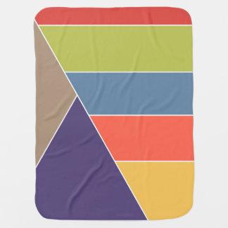 MOSAIK stripes Dreiecke färbte I + Ihre Ideen Babydecke