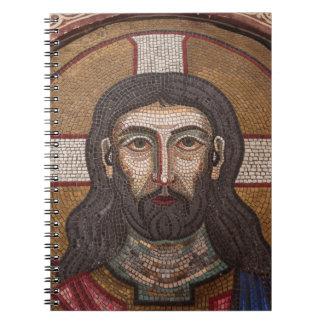 Mosaik von Jesus Notizblock