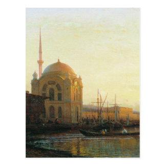 Moschee in Istanbul durch Alexey Bogolyubov Postkarte