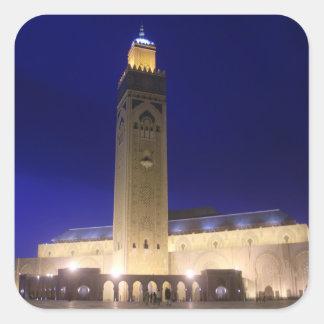Moschee Quadratischer Aufkleber