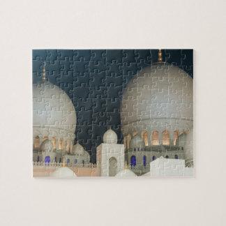 Moschee Scheichs Zayed Grand in Abu Dhabi, UAE Puzzle