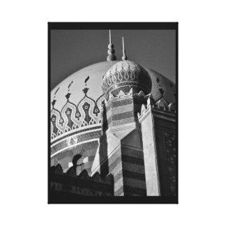 Moscheen-Ansicht Leinwanddruck