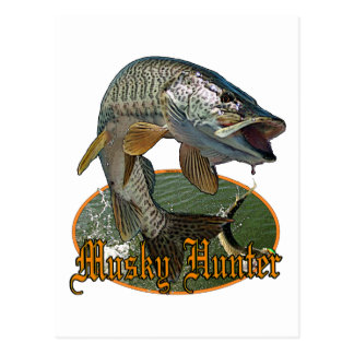 Moschusartiger Jäger 9 Postkarte