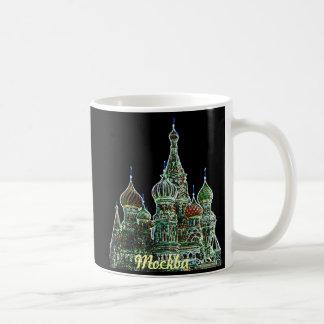 Moskau-Neon Kaffeetasse