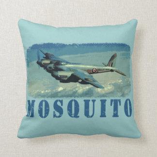 Moskito-Jagdbomber Kissen