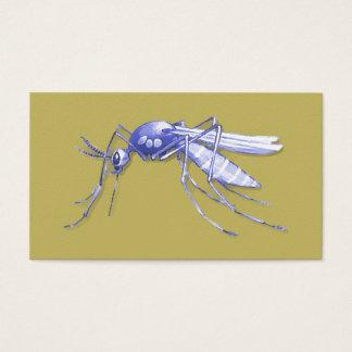 Moskito-Pop-Kunst Visitenkarte