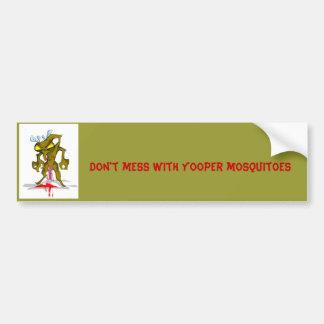 Moskito, verwirren nicht mit Yooper Moskitos Autoaufkleber