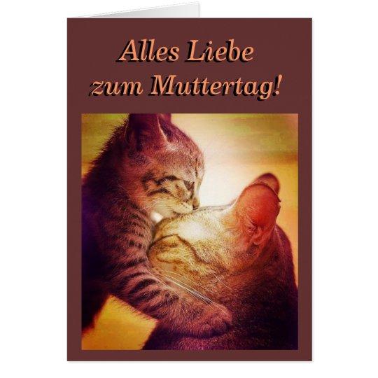 Mothersday Kitty-Card Karte