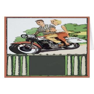 Motorrad-Autoreise Karte