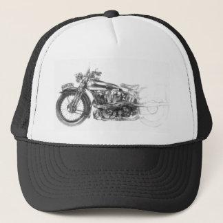 Motorrad-Felsen Truckerkappe