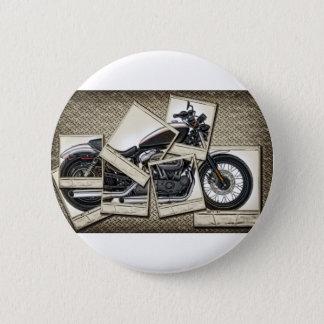 Motorrad Runder Button 5,7 Cm