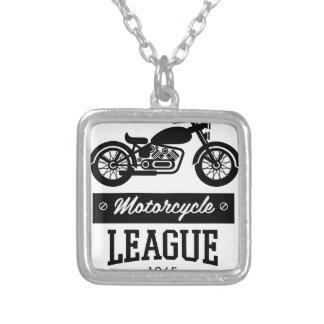 Motorrad-Sammlungslogos Versilberte Kette