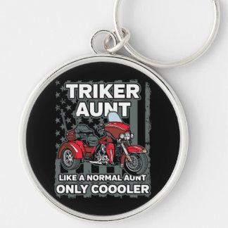 Motorrad Triker Tante Schlüsselanhänger