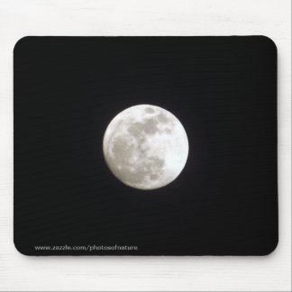 Mousepad - Vollmond auf klarem nächtlichem Himmel