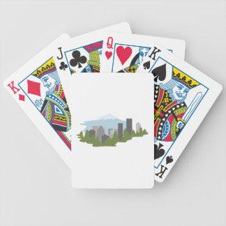Mt. Haube Bicycle Spielkarten