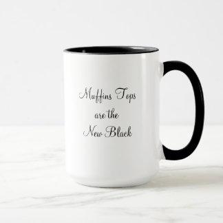 """""""Muffin-Spitzen sind die neue schwarze"""" Tasse"""