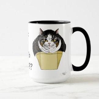 Muffin Top Cat Tasse