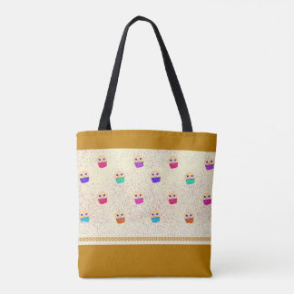 Muffinrüsche-Drucktasche