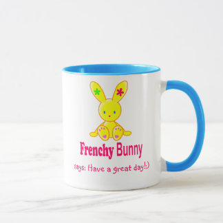 Mug - Frenchy Bunny - for happy family!:) Tasse