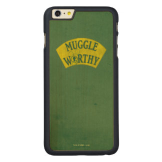 Muggle angemessen carved® maple iPhone 6 plus hülle