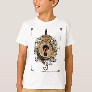 Muggle angemessener Verschluss mit dem T-Shirt