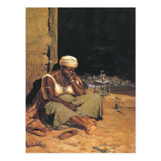 Mulata quitandeira durch Antonio Ferrigno Postkarte