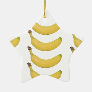Multi Banane transparent Keramik Ornament