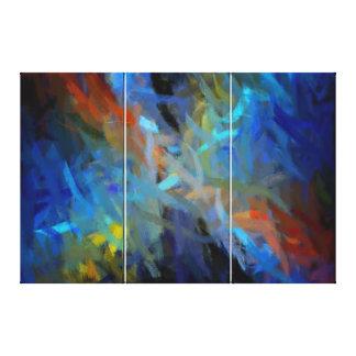 Multi Farbabstrakte Kunst-Malerei Gespannte Galeriedrucke