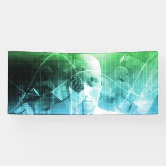 Multimedia-Technologie-Digital-Gerät-Informationen Banner