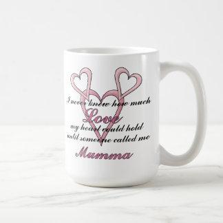 Mumma (ich wusste nie), Tasse Mutter Tages