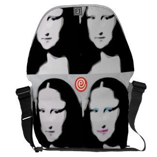 Mun Liisa große Bote-Tasche Kurier Taschen