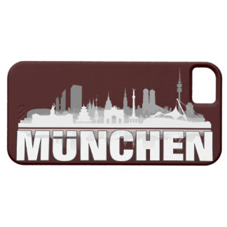 Munich city of skyline - iPhone4 sleeve iPhone 5 Hülle