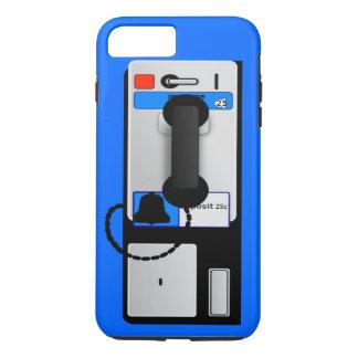 Münztelefon iPhone 7 Plusfall iPhone 8 Plus/7 Plus Hülle