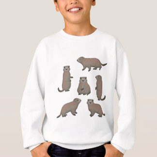 Murmeltier Auswahl Sweatshirt