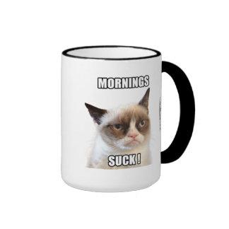 Mürrische Cat™ Morgen sind zum Kotzen Tassen