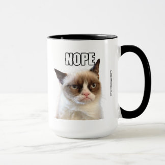 Mürrische Cat™ NOPE Tasse
