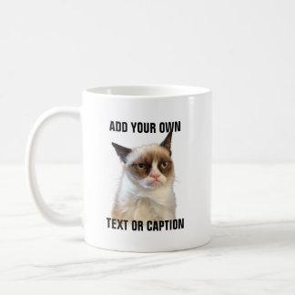 Mürrischer Katzen-greller Glanz - addieren Sie Tasse