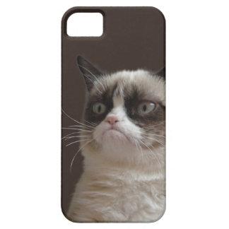 Mürrischer Katzen-greller Glanz Etui Fürs iPhone 5