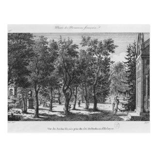 Musee DES-Monumente Francais, Paris Postkarte