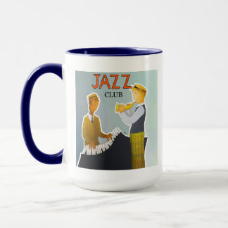 Mùsicos des Jazz Tasse