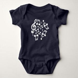 Musik-Anmerkung Baby Strampler