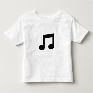 Musik-Anmerkung Kleinkind T-shirt