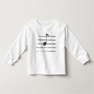 Musik-Anmerkungs-Kunst Kleinkind T-shirt