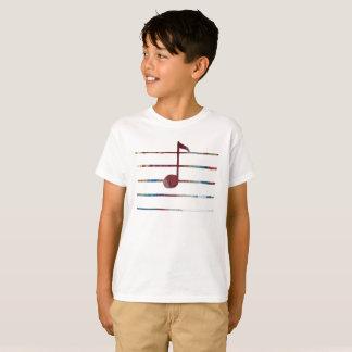 Musik-Anmerkungs-Kunst T-Shirt
