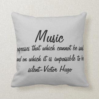 Musik drückt… aus zierkissen