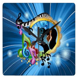 Musik für das Soul Wanduhr