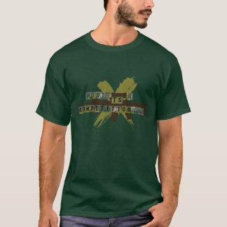 """""""Musik ist ein Wettbewerb """" T-Shirt"""