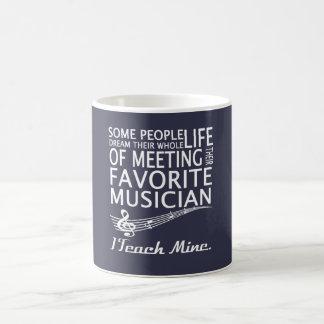 Musik-Lehrer Tasse