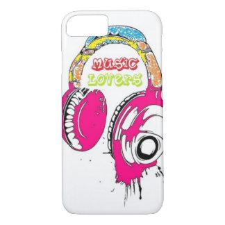 Musik-Liebe iPhone 7 Hülle
